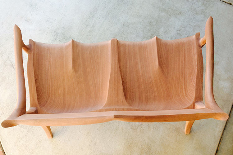 Creating a Sam Maloof Settee Reproduction