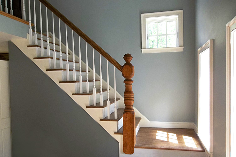 Brawley Made Stair Build in Massachusetts