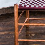 Checkered Shaker Chair Made of Cherry