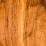 Wood Grain of the Brawley Made Walnut Shaker Hall Table