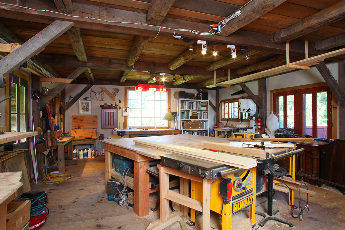 Marsh-Whitlock House Woodshop