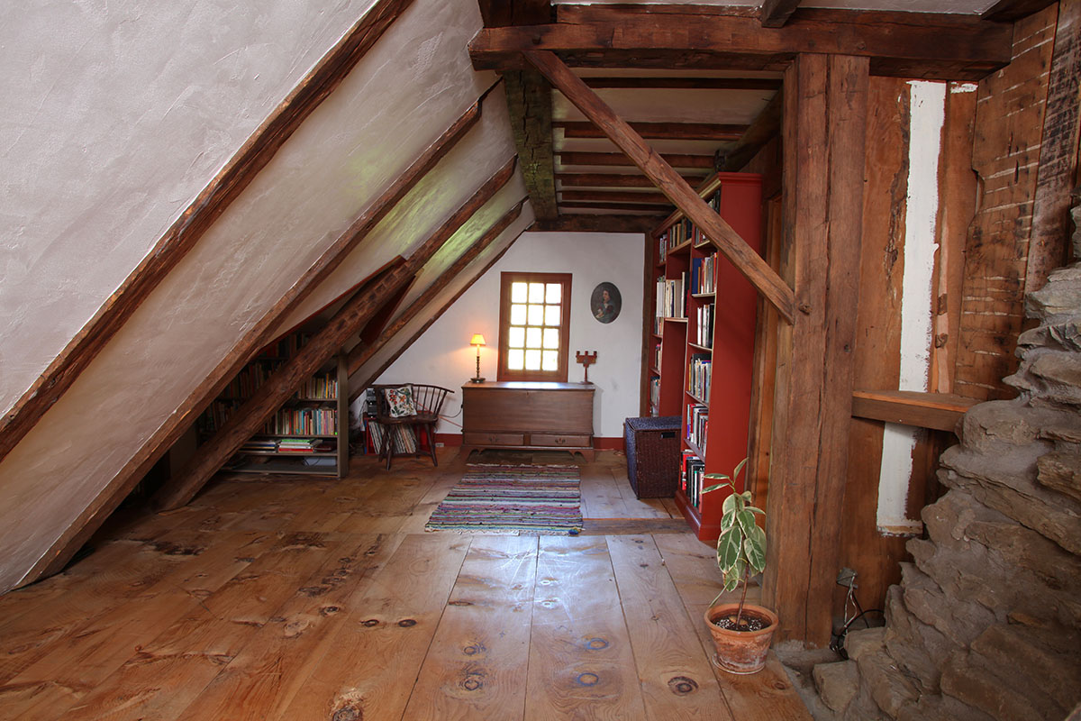 Marsh-Whitlock House Attic