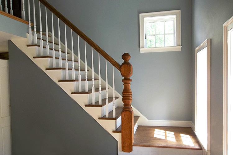 Brawley Made Stair Build in Massachusetts