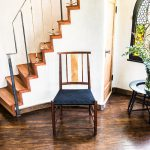Shaker Inspired Chair Made of Walnut and Oak
