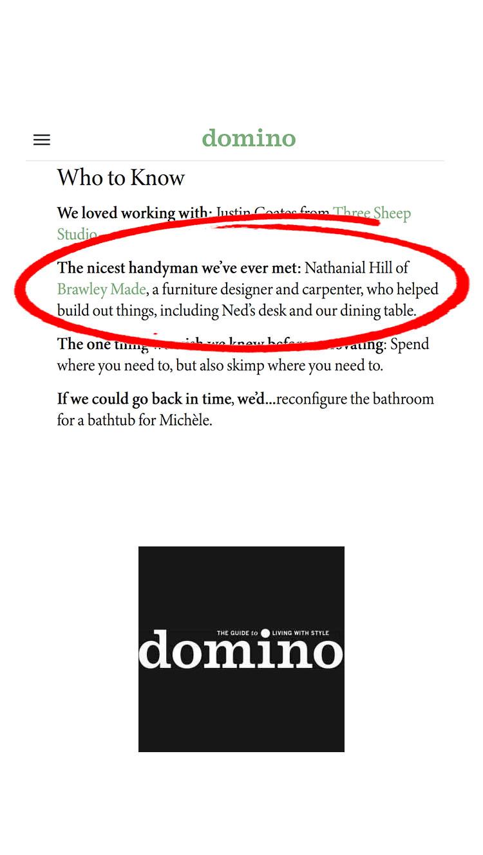 Brawley Made Domino Magazine 9